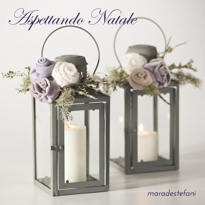 Idee per natale maradestefani - Decorare lanterne ...