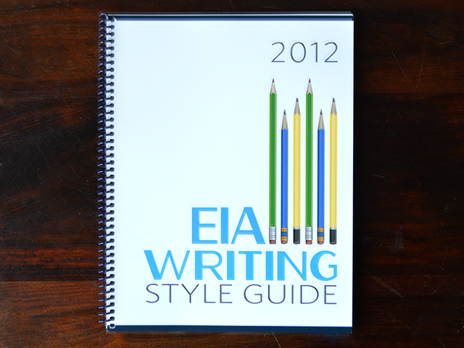 writing style guide